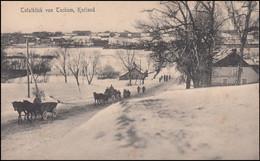 Feldpost S.B. III. Batl. Kurland 29 Feldpoststation 214 - 26.8.16 Auf AK Tuckum - Occupation 1914-18