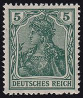 85 IIa Germania 5 Pf. Deutsches Reich Kriegsdruck, ** - Unclassified