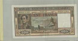 Belgique Billet De Banque 100 Francs  1949 TTB+   (2021 Juin Class ALB 31) - 100 Frank