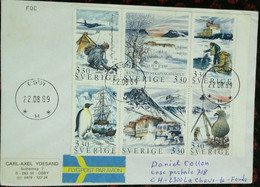 Antarctica, Penguine, Whale, Sweden, Save Polar And Glaciers,Antarctic Expedition - Expediciones Antárticas