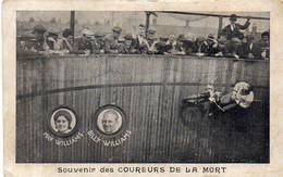 Souvenir Des Coureurs De La Mort - May Willians - Billy Williams - Moto (121827) - Cirque