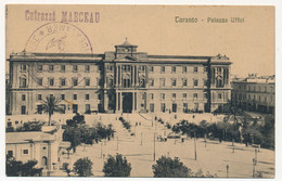 """Carte En Franchise - Griffe """"Cuirassé Marceau"""" - Depuis Taranto (palazzo Uffici) Non Datée - époque 14/18 - Seepost"""