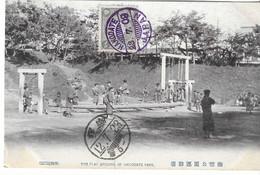 Japon, Japan,Hakodate, Play Ground, Tennis,1909, Stamp ,2 Scans - Sonstige
