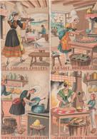 Recettes De Cuisine :lot De 18 Cartes  Barre-Dayez : Jean Paris 1417 :  D E F G H J K L M N O P Q R S V X Et Z - Recettes (cuisine)