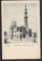 EGYPTE  CPA PRECURSEUR  CAIRO  Tombeaux Des Khalifes Kait  Bey   N097 - Cairo
