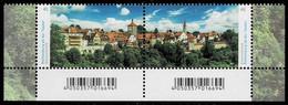 Bund 2019,Michel#3455-6 ** Rothenburg Ob Der Tauber - Ungebraucht