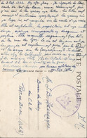 Guerre 39 45 Libération FM Division Auvergne Par Bureau Militaire De Moulins Allier Cachet V Croix De Lorraine CP Talmay - WW II