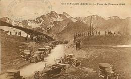 200621 - CPA 04 ALPES DE HAUTE PROVENCE BARCELONNETTE COL ALLOS TAMPON SYNDICAT INITIATIVE TOUR DE FRANCE 1926 CYCLISME - Barcelonnette
