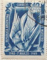 PIA - ARGENTINA - 1949 : 1° Anniversario Del Riscatto Delle Ferrovie Dalle Compagnie Straniere - (Yv 500)  - - Used Stamps