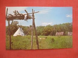 1840 Indian Village Murphy's Landing  Minnesota     Ref  4992 - Indiani Dell'America Del Nord