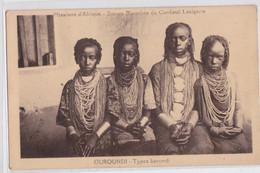 Ruanda-Urundi Ouroundi Types Barundi Missions D'Afrique - Ruanda-Urundi