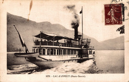 N°85072 -cpa Lac D'Annecy -un Bateau- - Andere