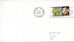 CANADA. N°400 De 1968 Sur Enveloppe 1er Jour. Météorologie. - Environment & Climate Protection