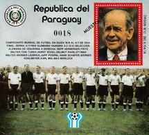 PARAGUAY - BLOC N°313 **  (1978) Coupe Du Monde De Football : Argentine 78 - MUESTRA - Paraguay