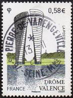 France Oblitération Cachet à Date N° 4735 - Monument à Valence - Drôme - Gebruikt