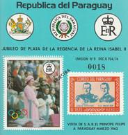 PARAGUAY - BLOC N°303 ** (1977)  MUESTRA - Paraguay