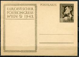 "German Empires1942 GS Europäischer Postkongress Mi.Nr.P294""Pferd,Horses,Postreiter  "" 1 GS - Interi Postali"