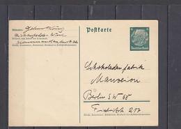 GERMANIA  1935 - Postkarte - Hindenburg - Interi Postali