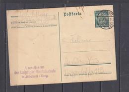 GERMANIA   1936 -  Postkarte - Hindenburg - Interi Postali