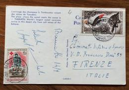 REPUBLIQUE DU MALI - POST CARD  TO CAMEL A TIMBUKTU - FROM BAMAKO 14 /9/65 TO FIRENZE - ITALY - Mundo