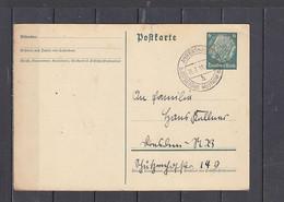 GERMANIA   1938 -  Postkarte - Hindenburg - Interi Postali