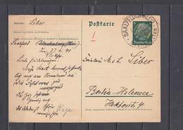 GERMANIA   1941 -  Postkarte - Hindenburg - Interi Postali