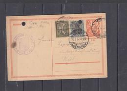 GERMANIA   1922 -  Postkarte - Interi Postali