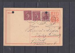GERMANIA Impero  1922  - Postkart - Interi Postali