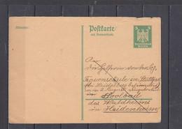 GERMANIA Impero    - Postkart - Interi Postali