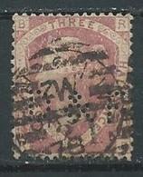 Grande-Bretagne YT N°70 Reine Victoria (Perforé D&F) Oblitéré ° - Usados