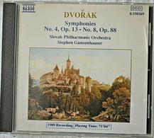 Dvorak - Symphonies 4, Op 13 & 8, Op 88 - Orchestre Philharmonique Slovaque - Classica