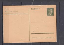 GERMANIA Impero 1942 - Hitler    - Postkart - Interi Postali