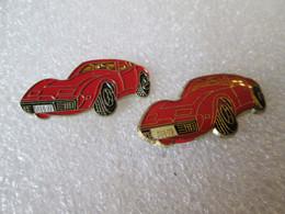 PIN'S    LOT 2 CORVETTE - Corvette