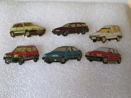 PIN'S    LOT   6  FIAT - Fiat