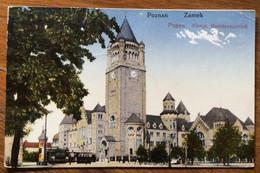 POLONIA - POZNAN - ZAMEK  - POSEN KONIGL  RESIDENZSCHLOB - POST CARD TO WIEN 21/7/1923 - Mundo
