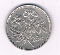 25 CENTS 1996 MALTA /5351/ - Malta
