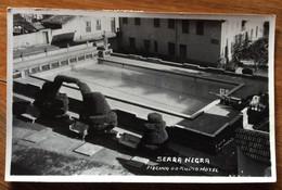TEMATICA ALBERGHI  - BRASIL - SERRA NEGRA  - PISCINA  DO RADIO HOTEL - POST CARD PER ROMA IL 27/1/52 - Mundo