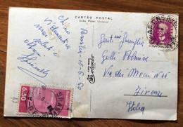 TEMATICA ALBERGHI - BRASIL - BRASILIA - PALACE HOTEL - POST CARD PER FIRENZE IL 22/10/55 - Mundo
