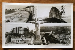 BRASIL - RIO DE JANEIRO - POST CARD VEDUTE  PER FIRENZE IL 15/12/63 - Mundo