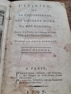 L'italien Ou Le Confessional Des Pénitens Noirs ANNE RADCLIFFE Denné Jeune 1797 - 1701-1800
