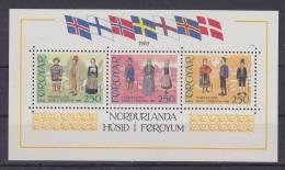 Färöer, Block 1, Postfrisch**, Haus Des Nordens, 1983 - Isole Faroer