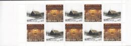 FÄRÖER Markenheftchen MH 14, 5x 326-327, Postfrisch **, Kirche Von Hvalvík 1997 - Isole Faroer