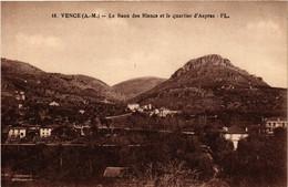 CPA AK VENCE - Le Baou Des Blans Et Le Quartier D'Aspras (513565) - Vence
