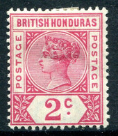 British Honduras 1891-1901 QV - 2c Carmine-rose HM (SG 52) - British Honduras (...-1970)