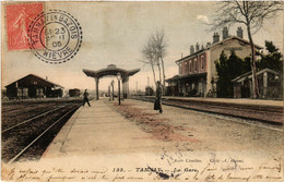 CPA AK TANNAY - La Gare (518559) - Tannay