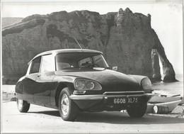 JX / Photo De Presse ORIGINALE Automobile  DS   GRAND FORMAT 30 X 22 Cm Voiture Citroën Auto - Automobiles