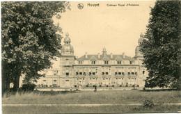 1917 Kaart Van Dinant Met Germania 8 C Op 7.50 - Stempel Freigegeben Dinant  - Houyet Chateau Royal D'Ardenne - Guerra 1914-18