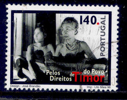 ! ! Portugal - 1996 Timor People - Af. 2388 - Used - Used Stamps