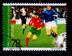 ! ! Portugal - 1996 Euro 96 Football - Af. 2342 - Used - Used Stamps