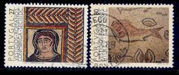 ! ! Portugal - 1988 Roman Civilization (Complete Set) - Af. 1863 & 1864 - Used - Used Stamps